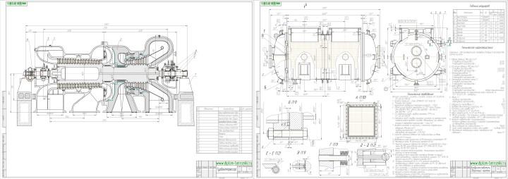картинка чертеж устройства в программе компас