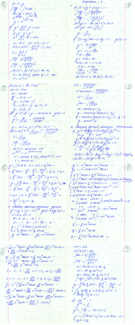 Решение уравнений примеров задач по математике