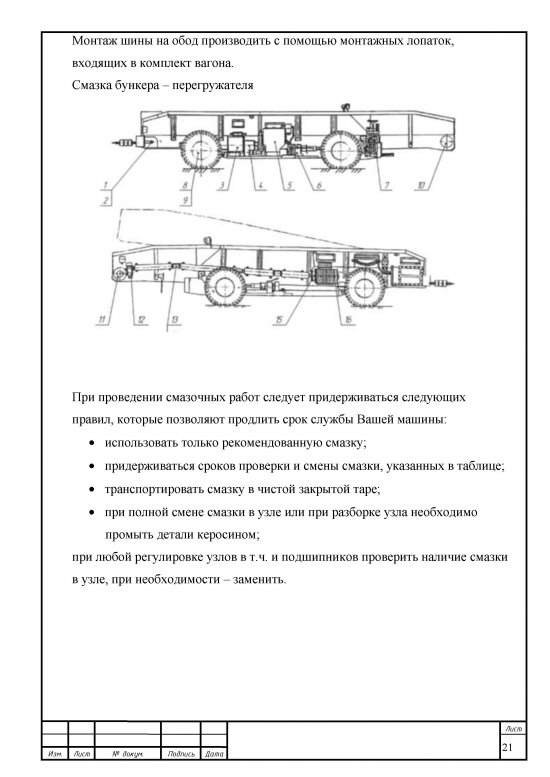страница 21 Дипломная работа бункер перегружатель БПС-25