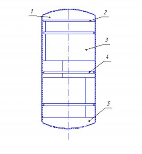 Конструкция сосуда для хранения нефтепродуктов
